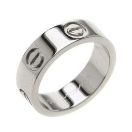 Cartier Love 950 Platinum Ring Size 4.25