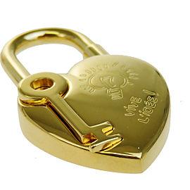 Hermes Gold Tone Hardware Annee De La Fantaisie Cadena Pendant