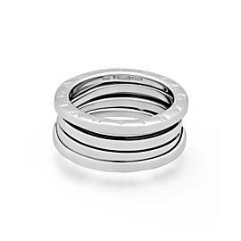 Bulgari B.zero1 18K White Gold Ring Size 6.75