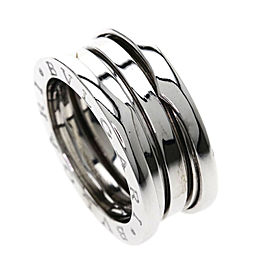 Bulgari B-zero 18K White Gold Ring Size 5.5