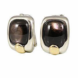 Hermès Sterling Silver Earrings