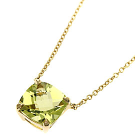 Tiffany & Co. 18K Yellow Gold Citrine Necklace