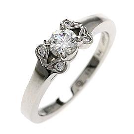 Cartier Ballerina Ring Platinum Diamond Size 3.25