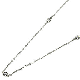 Tiffany & Co. Diamond ByTheYard Sterling Silver Necklace