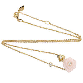 Piaget 18K Rose Gold Diamond Pendant