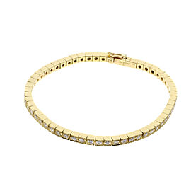 Cartier Lanières Bracelet 18K Yellow Gold Diamond