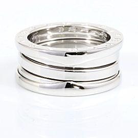 Bvlgari 18K White Gold Ring Size 4.25