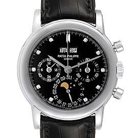 Patek Philippe Grand Complications Perpetual Calendar Platinum Watch 3970