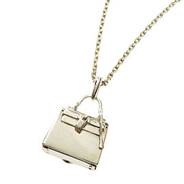 Hermès Sterling Silver Necklace