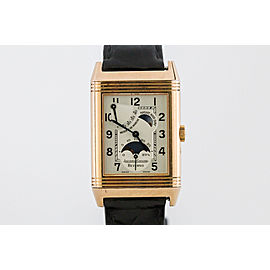 Jaeger LeCoultre Reverso Grande Sun Moon 270.2.63 42mm Mens Watch