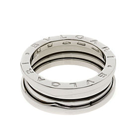 Bulgari 18K White Gold Ring