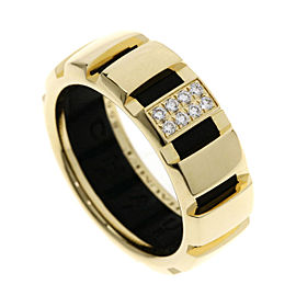 Chaumet 18K Yellow Gold Class One/Diamond Ring