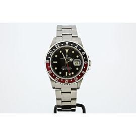 Rolex GMT Master II 16760 Vintage 40mm Mens Watch