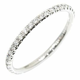 Tiffany & Co. 18K WG/ Platinum Diamond Ring Size 4.5