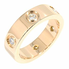 Cartier 18K RG Diamond Ring Size 5.75