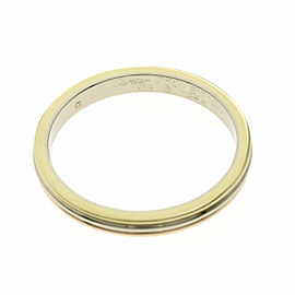 CARTIER 18K 3 Color Ring Size 10.25