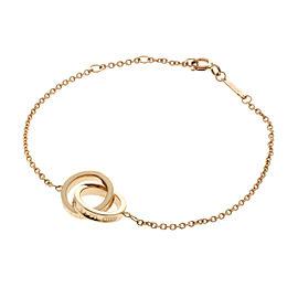 TIFFANY&Co. 18K RG 837 Interlocking Bracelet