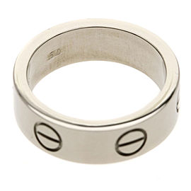 CARTIER Ring love ring 18KWG