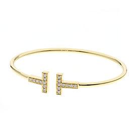 TIFFANY&Co.18K YG TWire Bracelet