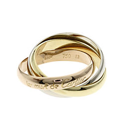 CARTIER Ring Trinity ring 3 color 18K Yellow Gold 18K Pink Gold