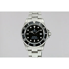 Rolex Sea-Dweller 4000 ft Automatic Dive Watch 16600 P Series w/ Box & Papers