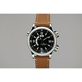 Jaeger LeCoultre Master Compressor Memovox Automatic Alarm Watch Q1708470