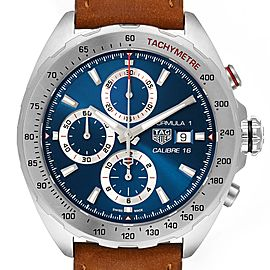 Tag Heuer Formula 1 Chronograph Steel Mens Watch