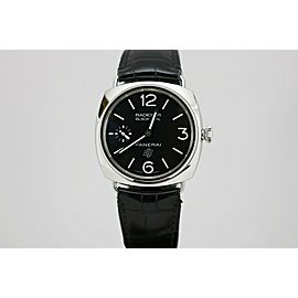 Panerai Radiomir Black Seal Logo 45mm Mechanical Watch PAM 380 R Series
