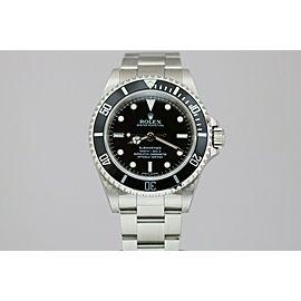 "Rolex Submariner Stainless Steel ""4 Line"" 40mm Dive Watch 14060M G Series"