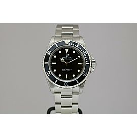 Rolex Submariner Stainless Steel Automatic 40mm Dive Watch 14060