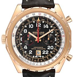 Breitling Chronomatic Limited Edition Rose Gold Watch H22360 Box