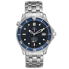 Omega Seamaster 40 Years James Bond Blue Dial Mens Watch 2537.80.00
