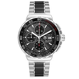 Tag Heuer Formula 1 Calibre16 Chronograph Steel Mens Watch CAU2011