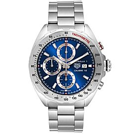 Tag Heuer Formula 1 Chronograph Blue Dial Steel Mens Watch CAZ2015