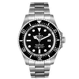 Rolex Seadweller Deepsea 44 Black Dial Steel Mens Watch 126660