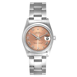 Rolex Datejust 31 Midsize Salmon Dial Steel Ladies Watch 78240