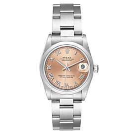 Rolex Datejust 31 Midsize Salmon Dial Ladies Watch 78240