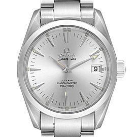 Omega Seamaster Aqua Terra 36 Silver Dial Steel Watch