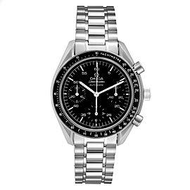 Omega Speedmaster Reduced Hesalite Cronograph Steel Mens Watch 3510.50.00