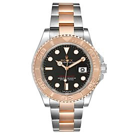 Rolex Yachtmaster Everose Gold Steel Rolesor Mens Watch 126621
