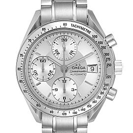 Omega Speedmaster Date Silver Dial Automatic Steel Mens Watch 3513.30.00
