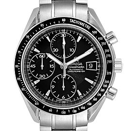 Omega Speedmaster Chronograph Black Dial Mens Watch