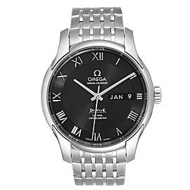 Omega DeVille Annual Calendar Steel Mens Watch 431.10.41.22.01.001