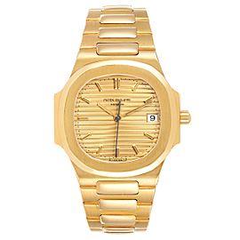 Patek Philippe Nautilus 32mm 18K Yellow Gold Ladies Watch 3900