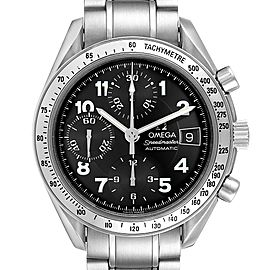 Omega Speedmaster Date Black Arabic Dial Steel Mens Watch 3513.52.00