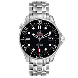 Omega Seamaster 40 Co-Axial Black Dial Mens Watch 212.30.41.20.01.003