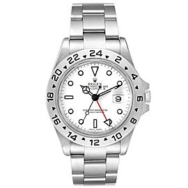 Rolex Explorer II White Dial Automatic Steel Mens Watch 16570