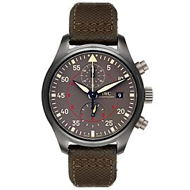 IWC Pilot Top Gun Miramar Ceramic Mens Watch IW389002