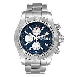 Breitling Aeromarine Super Avenger Steel Mens Watch A13371