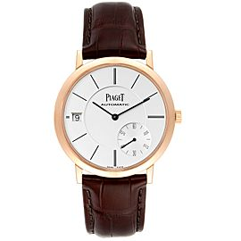 Piaget Altiplano 18K Rose Gold Ultra-Thin Automatic Mens Watch GOA38131